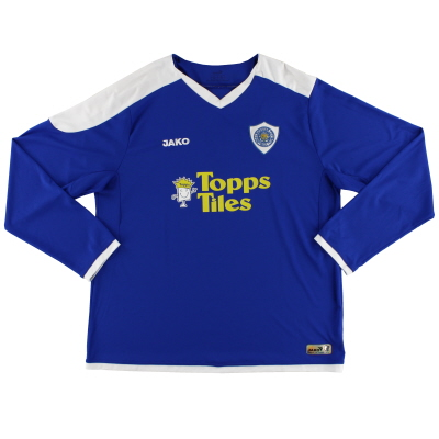 2007-09 Leicester Jako Home Shirt L/S XXL