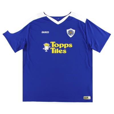 2007-09 Leicester Jako Home Shirt XL