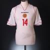 2007-09 Malta Match Issue Away Shirt #14 L