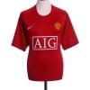 2007-09 Manchester United CL Home Shirt Ronaldo #7 XL