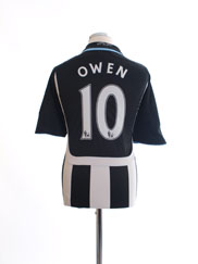 2007-09 Newcastle Home Shirt Owen #10 L