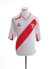 2007-09 Peru Home Shirt #8 L