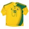 2007-09 South Africa Home Shirt Pienaar #10 XL