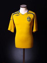 2007-09 Sweden Home Shirt *BNIB* XL