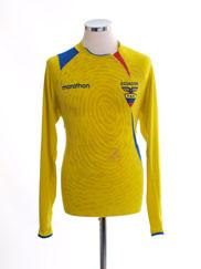 2007-11 Ecuador Home Shirt L/S L