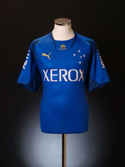 2007 Cruzeiro Home Shirt #10 (Wagner) XL