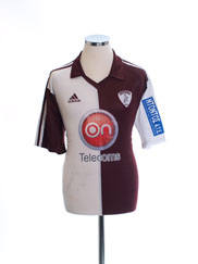 2008-09 AE Larissa Home Shirt L