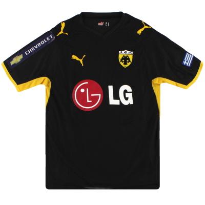 2008-09 AEK Athens Puma Away Shirt S