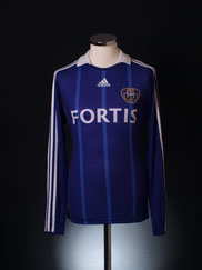 2008-09 Anderlecht Centenary Away Shirt L/S S