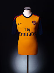 2008-09 Arsenal Away Shirt XXL