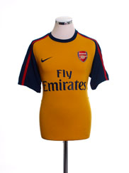 2008-09 Arsenal Away Shirt *Mint* L