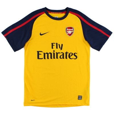 2008-09 Arsenal Away Shirt L.Boys