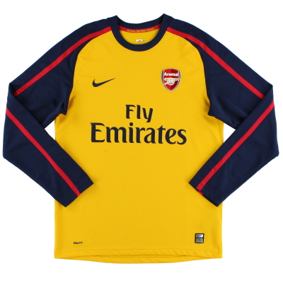 2008-09 Arsenal Away Shirt L/S M