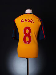 2008-09 Arsenal Away Shirt Nasri #8 XL