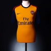 2008-09 Arsenal Away Shirt Sagna #3 M
