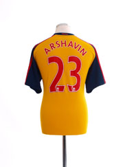 2008-09 Arsenal Home Shirt Arshavin #23 M