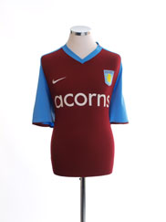 2008-09 Aston Villa Home Shirt M