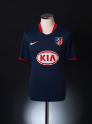 2008-09 Atletico Madrid Away Shirt S