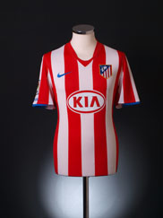 2008-09 Atletico Madrid Home Shirt S