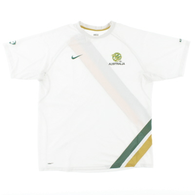 2008-09 Australia Nike Training Shirt XXL