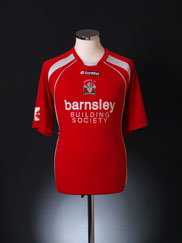 2008-09 Barnsley Home Shirt L