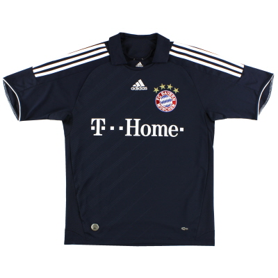2008-09 Bayern Munich Away Shirt *Mint* M
