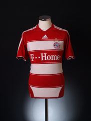 2008-09 Bayern Munich Home Shirt S