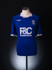 2008-09 Birmingham Home Shirt XL