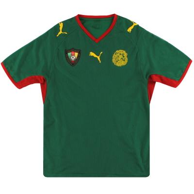 2008-09 Cameroon Puma Home Shirt *As New* XL