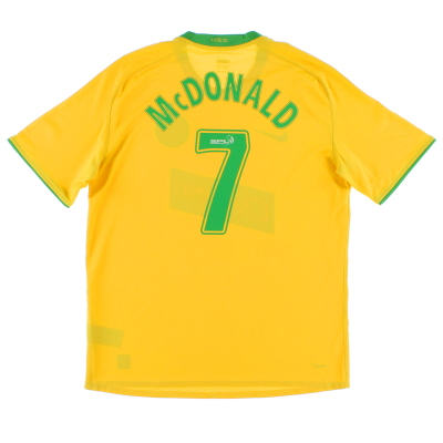 2008-09 Celtic Away Shirt McDonald #7 L