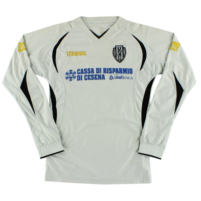 2008-09 Cesena Home Shirt #7 L/S L