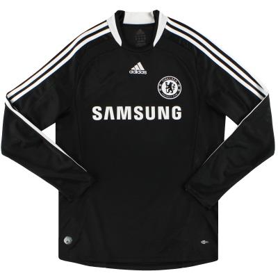 2008-09 Chelsea adidas Away Shirt L/S M