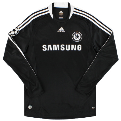 2008-09 Chelsea adidas CL Away Shirt L/S *As New* L