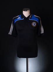 2008-09 Chelsea adidas Polo Shirt L