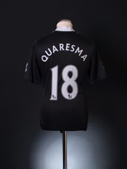 2008-09 Chelsea Away Shirt Quaresma #18 S