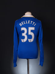 2008-09 Chelsea Home Shirt Belletti #35 L/S L