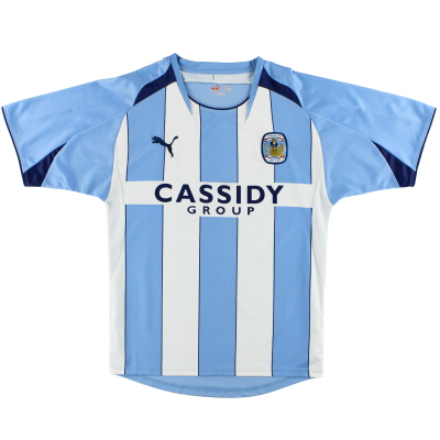 2008-09 Coventry Puma '125 Years' Home Shirt S