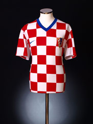 2008-09 Croatia Home Shirt XXL