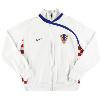 2008-09 Croatia Nike Track Jacket XL