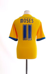 2008-09 Crystal Palace Away Shirt Moses #11 M