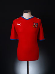 2008-09 Czech Republic Home Shirt L