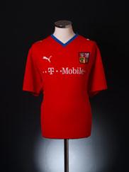 2008-09 Czech Republic Home Shirt *Mint* XL