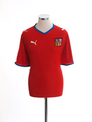 2008-09 Czech Republic Home Shirt M