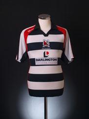 2008-09 Darlington Home Shirt M