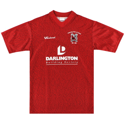2008-09 Darlington '125 Years' Away Shirt S