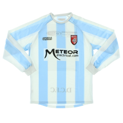 2008-09 Derry City Away Shirt L/S S
