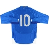 2008-09 Empoli Home Shirt #10 L/S XL