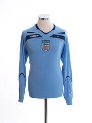 2008-09 England Goalkeeper Shirt M