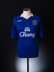 2008-09 Everton Home Shirt Women's 16