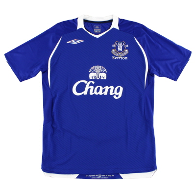 2008-09 Everton Home Shirt *Mint* M